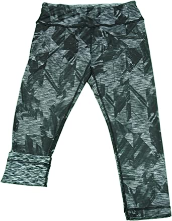 6e3ce2811fc84 Active Life Ladies Capri Leggings, Space Woodgrain/Black Space Dye (X-Large