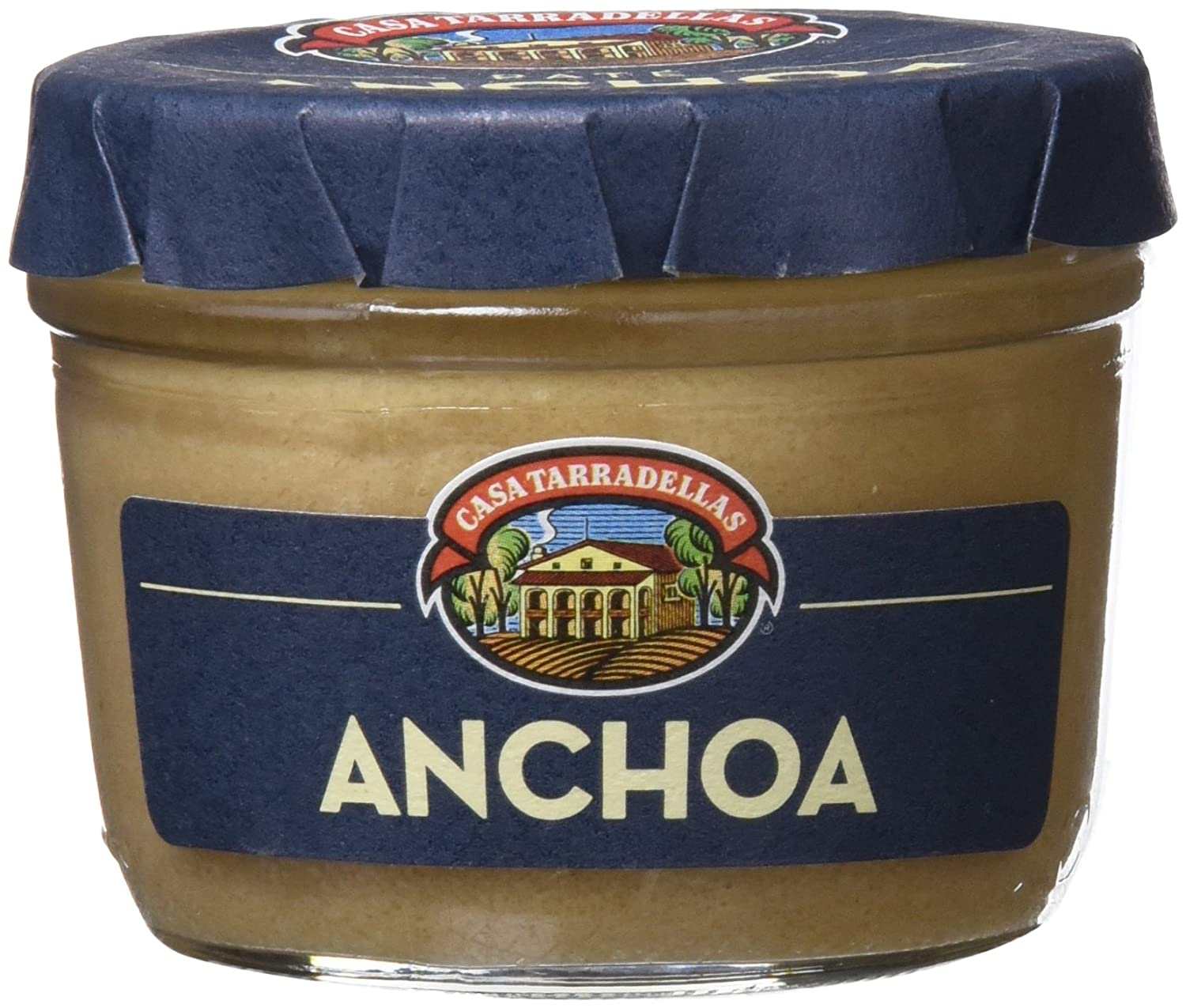 Casa Tarradellas - Paté Anchoa 125 g - [Pack de 4]: Amazon.es ...