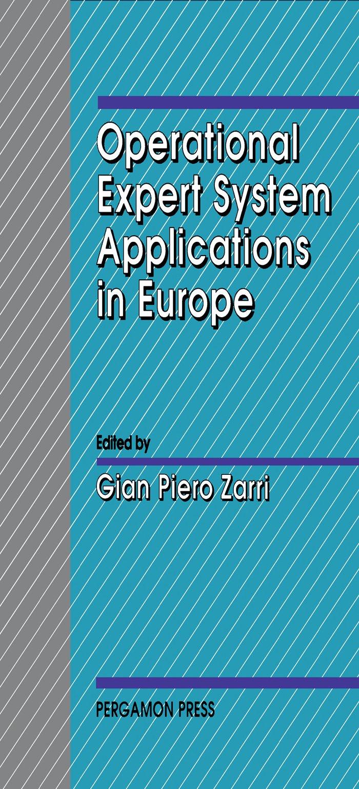 Amazon Com Operational Expert System Applications In Europe Series In Operational Expert Systems Applications Worldwide Ebook Zarri Gian Piero Kindle Store