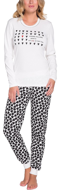 Italian Fashion IF Pijama Camiseta y Pantalones Mujer 72LL6 0223