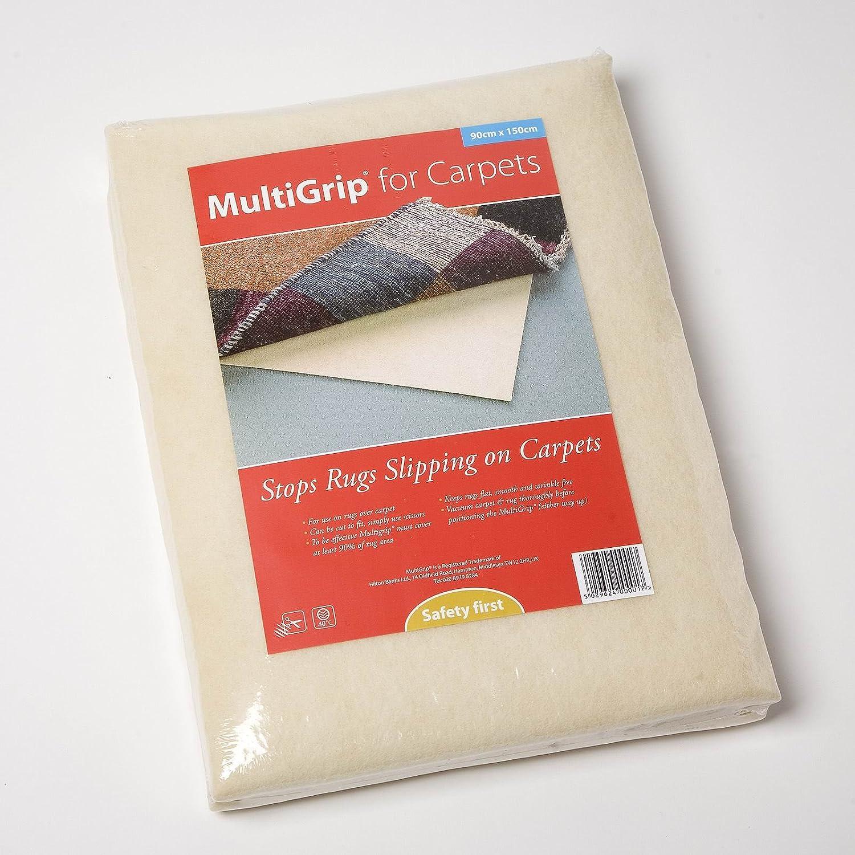 Hilton Banks Ltd MultiGrip for Carpet - Stop Rugs Slipping on Carpets (60cm x 120cm)