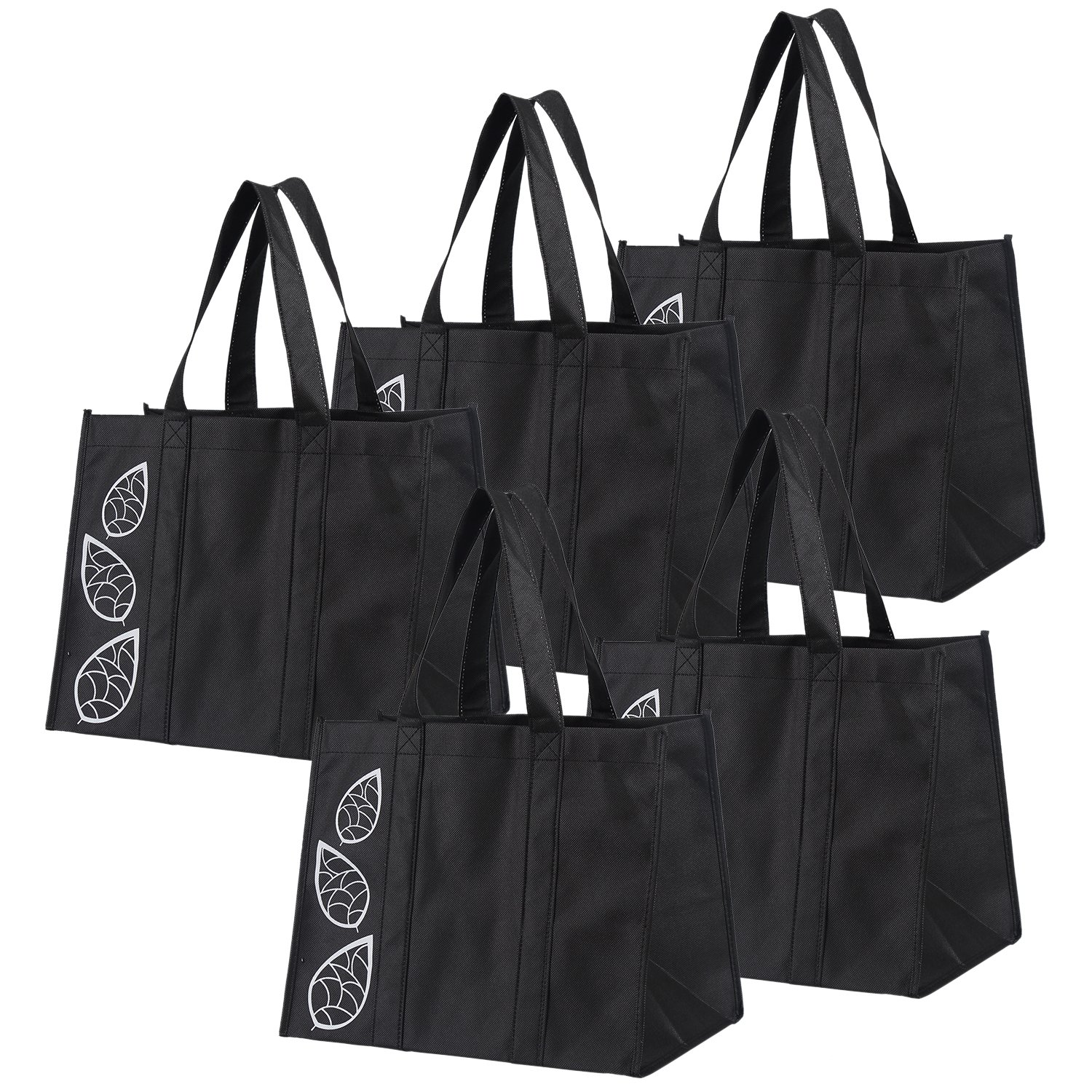 8aaad136a8ba Amazon.com  Bekith 5 Piece Large Collapsible Shopping Bags Set ...