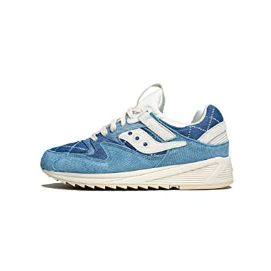 Saucony Originals Men's Grid 8500 Washed Denim 7 D(M) US
