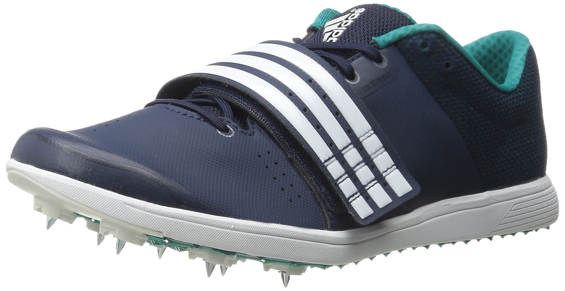 adidas Performance Women's Adizero TJ/PV Running Shoe with Spikes,Collegiate Navy/White/Green,14 M US by adidas (Image #1)
