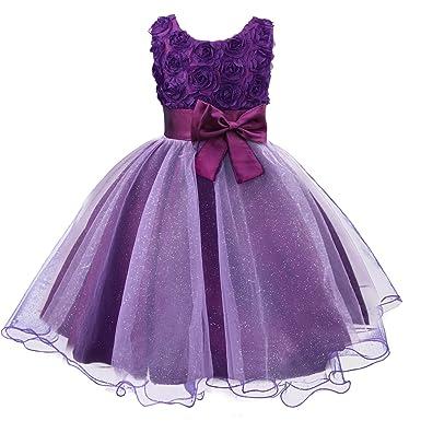 Abendkleid blumenmadchenkleid festkleid kleid partykleid hochzeitskleid