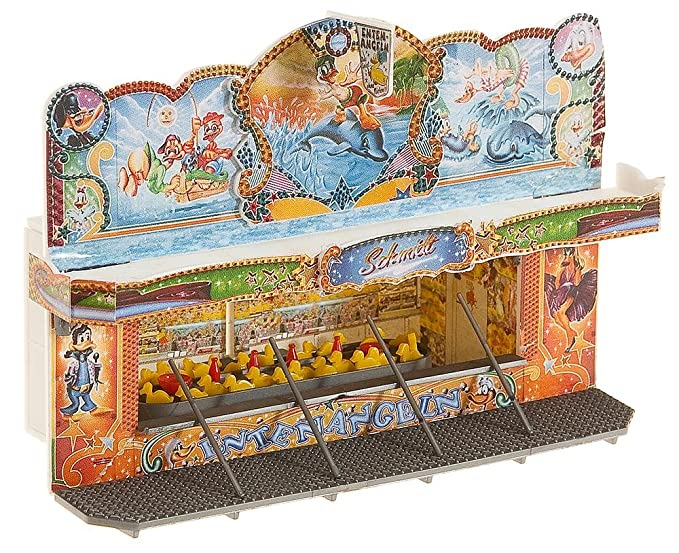 Amazon.com: Faller 140446 Fairground Booths 2/HO Scale ...
