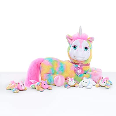 Unicorn Surprise Plush - Crystal: Toys & Games