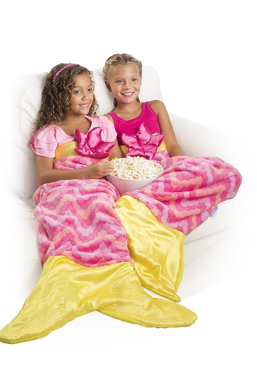 amazon com allstar innovations snuggie tails mermaid blanket