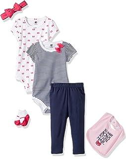 1b144f8a0 Hudson - Conjunto de Body y pantalón para bebé  Amazon.com.mx  Ropa ...