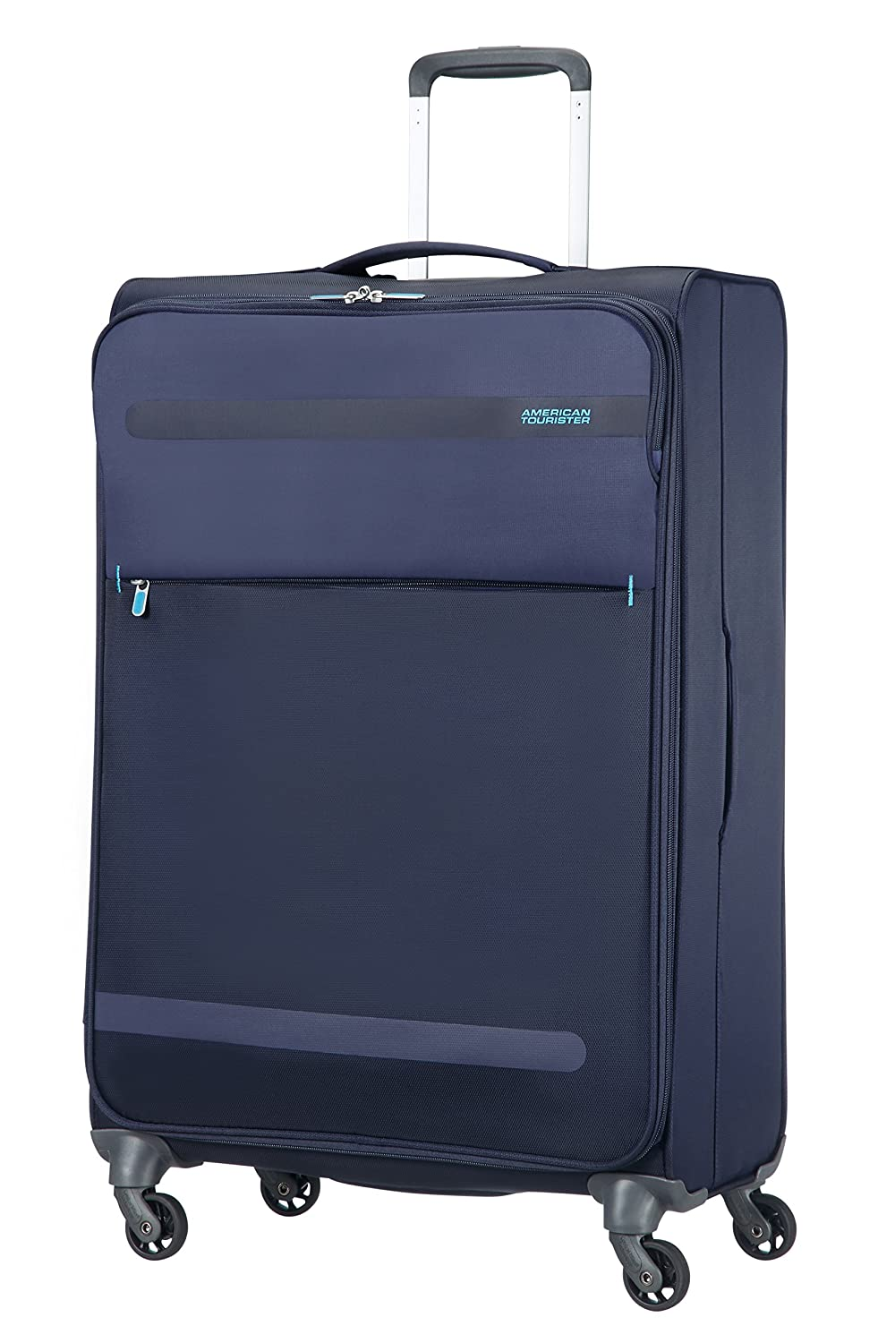 American Tourister Herolite Super Light Spinner Maleta cm Litros Color Azul Medianoche