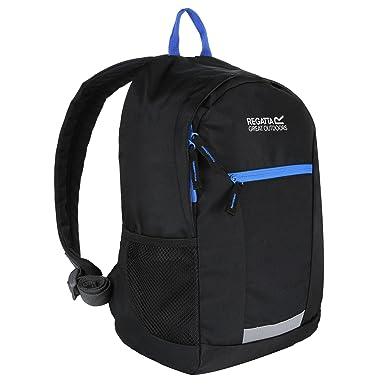 708289e2a8e1 Regatta Jaxon III Backpack (10 Litres) (One Size) (Black French Blue ...