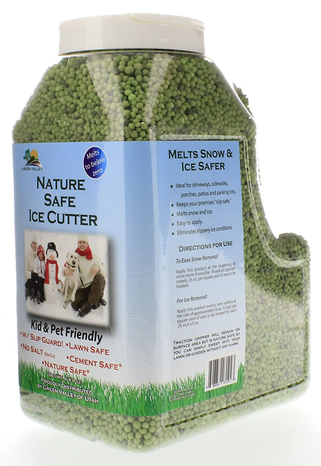 Amazoncom Green Valley Earth Nature Safe Organic Ice Melt Non