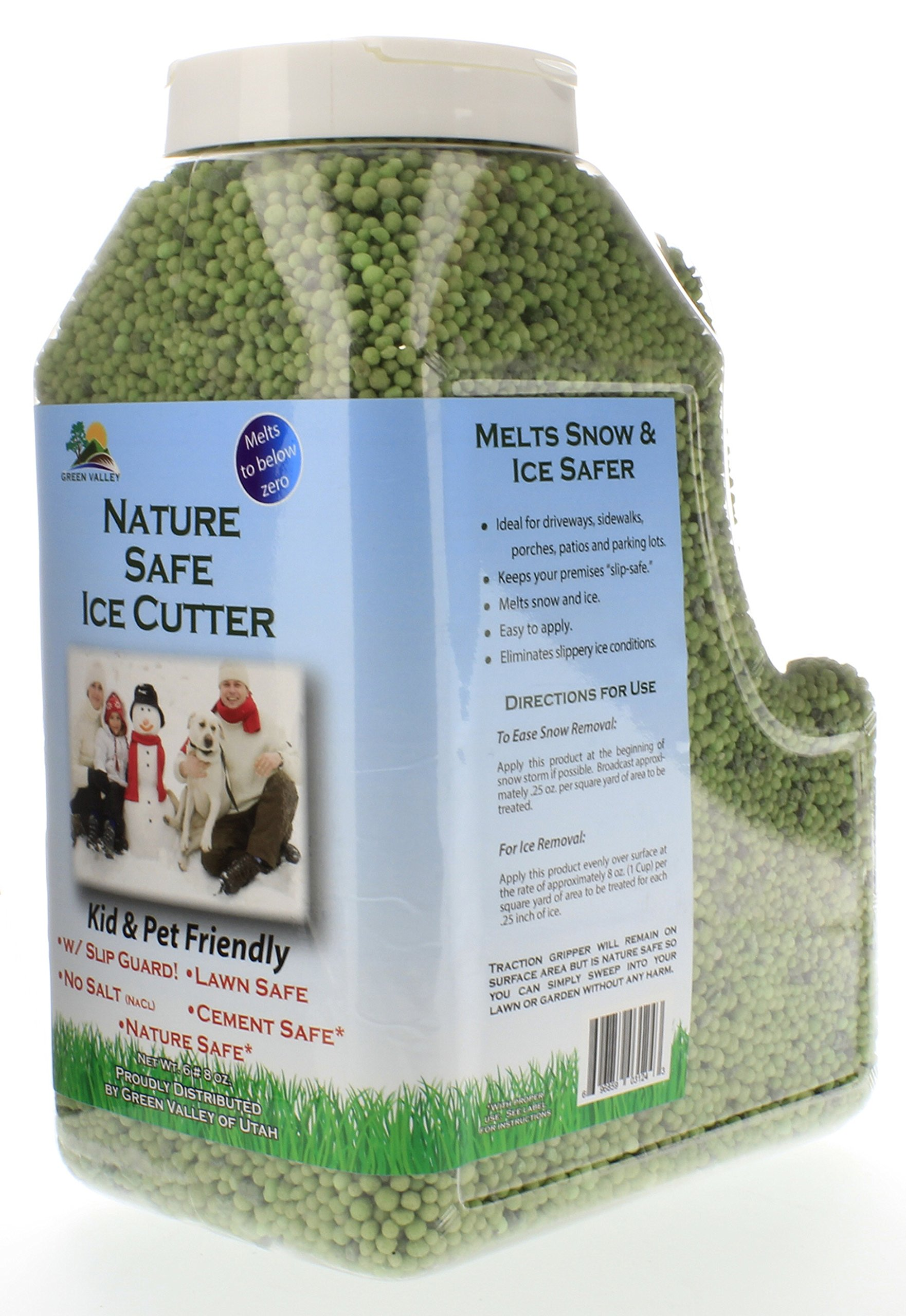 Green Valley Earth Nature Safe Organic Ice Melt Non-Toxic Pet Safe - 1 Gallon
