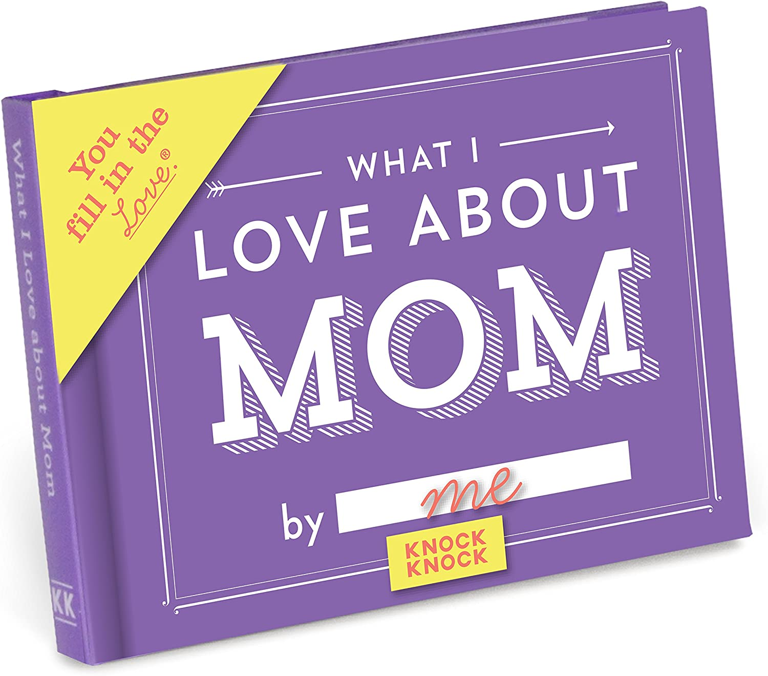 """Do you want a meaningful gift that your hands truly take part in making it? Then, this """"What I Love About Mom Book"""" is sure to be the best choice for you. This little book contains fill-in-the-blank lines to describe why your mom's the best. Pour love into each sentence and tell mom how she is always the best to you. I bet your mom will read it again and again and keep it as the most precious property. What could be more meaningful than this heartfelt Mother's day present?"""