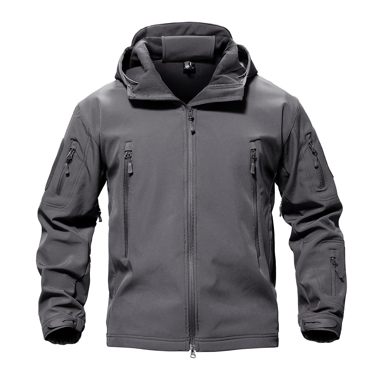 TACVASEN Men's Special Ops Military Tactical Soft Shell Jacket Coat XLTJ-73
