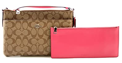 COACH EAST WEST CROSSBODY WITH POP-UP POUCH (F58316)  Handbags ... 5e31f5d4c6