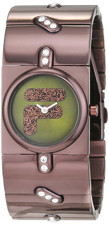 Fila Damen-Armbanduhr Analog Quarz Edelstahl FA0832-61