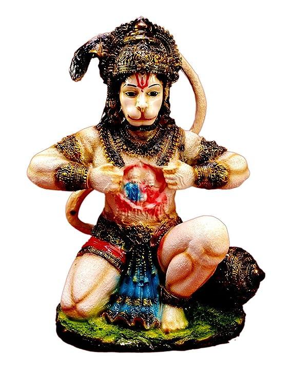 Amazon.com: Tallada a mano bebé Krishna Resina Idol ...