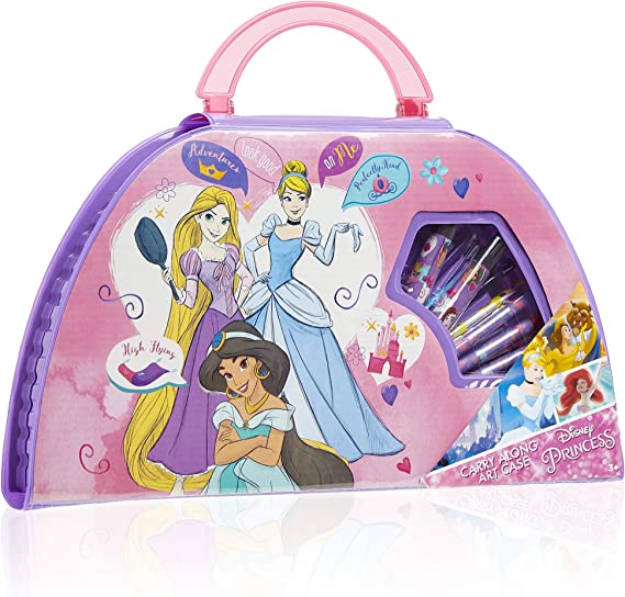 Unbekannt Malset 60-teilig im Aluminiumkoffer Disney Princess