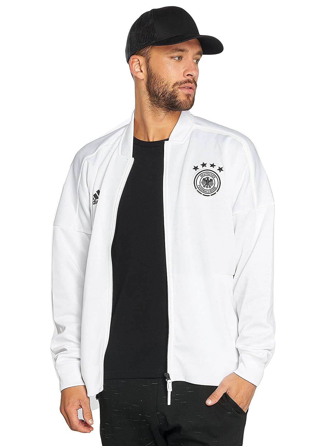 ADIDAS Herren DFB Zone Jacket Knitted Trainingsjacke