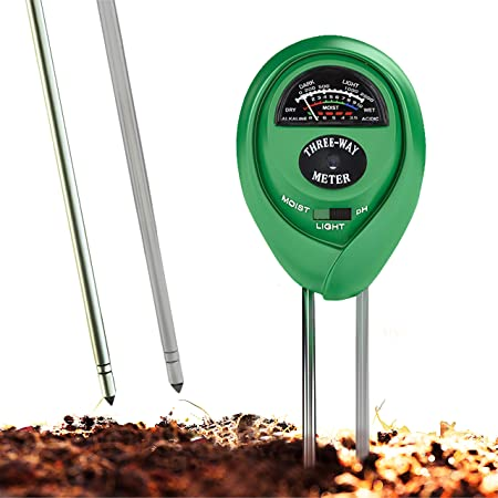 For Garden,Farm,Lawn,Herbs Soil pH Meter Soil Test Kit For Moisture,Light pH