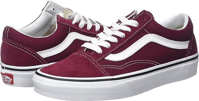 Vans Damen Old Skool SuedeCanvas Sneaker