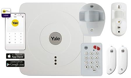 Yale 60-3200-EU0I-SR Kit de Alarma, Blanco: Amazon.es: Bricolaje y herramientas