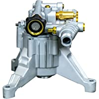 OEM Technologies 90026 Axial Cam Vertical Pressure Replacement Pump 3000Psi @ 2.4 Gpm with Aluminum Head Washer, 3000 psi, Sliver