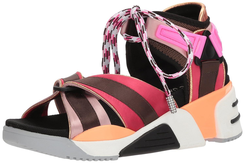 Marc Jacobs Women's Somewhere Sport Sandal B075YYK4HR 38 M EU (8 US) Raspberry Multi