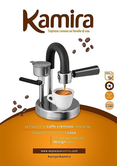 101 opinioni per Kamira, il Caffè Espresso Cremoso sul Fornello di Casa Senza Cialde e Capsule