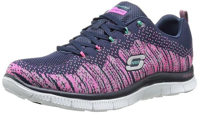 Skechers Flex Appeal Talent Flair, Zapatillas para Mujer: Amazon.es: Zapatos y complementos