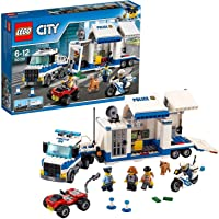 LEGO 60139 City Police Mobiele Commandocentrale, Politie Speelgoed met Vrachtwagen voor Kinderen van 6 Jaar en Ouder