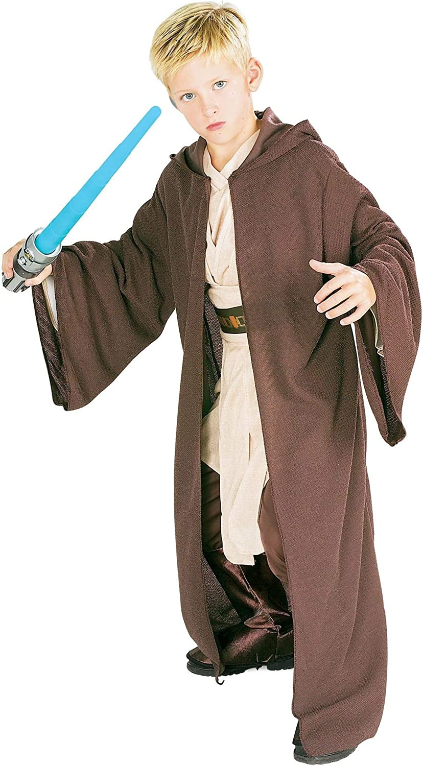 Rubie's Star Wars Classic Child's Deluxe Hooded Jedi Robe, X-Large