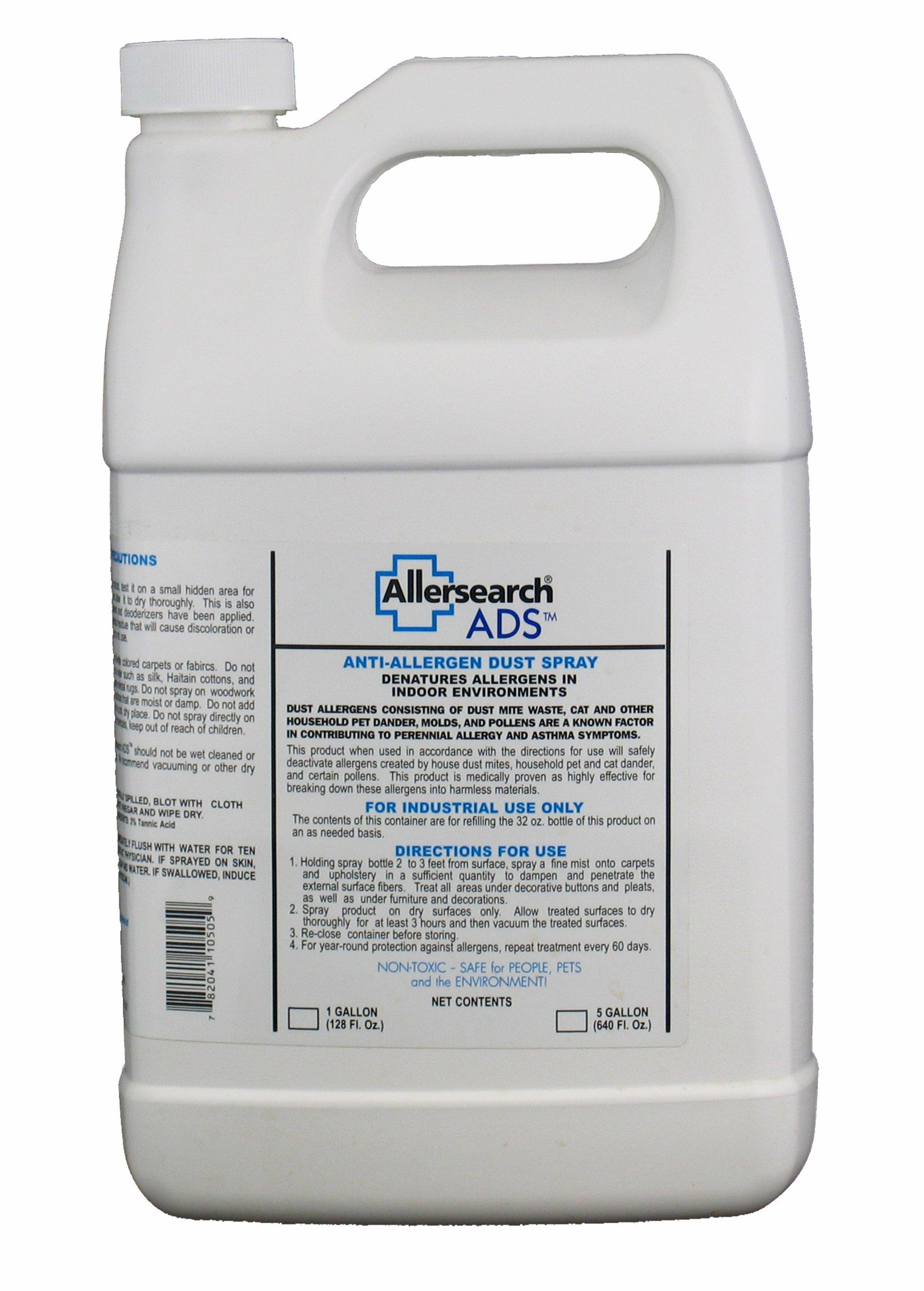 Allersearch ADS Anti-Allergen Dust Spray 128 oz.