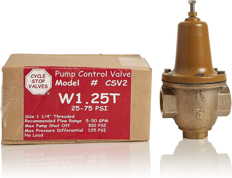CYCLE STOP VALVE CSV125  50-1 CONSTANT PRESSURE VALVE