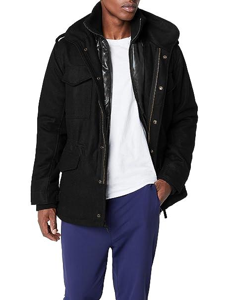 Brandit Men's M 65 Voyager Wool Jacket Woodland