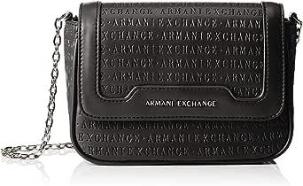 ارماني اكسجينج حقيبة للنساء-اسود - حقائب طويلة تمر بالجسم