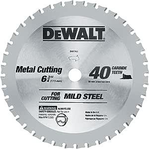5-1//2-Inch DEWALT DWA7771 30 Teeth Stainless Steel Metal Cutting 20mm Arbor