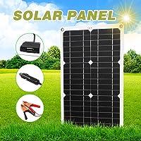Kit de Panel Solar profesional de 180W 12V, puerto USB doble fuera de la red, módulo monocristalino, pantalla LCD con…