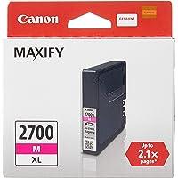 Canon Maxify Inkjet Cartridges PGI-2700M XL,Magenta