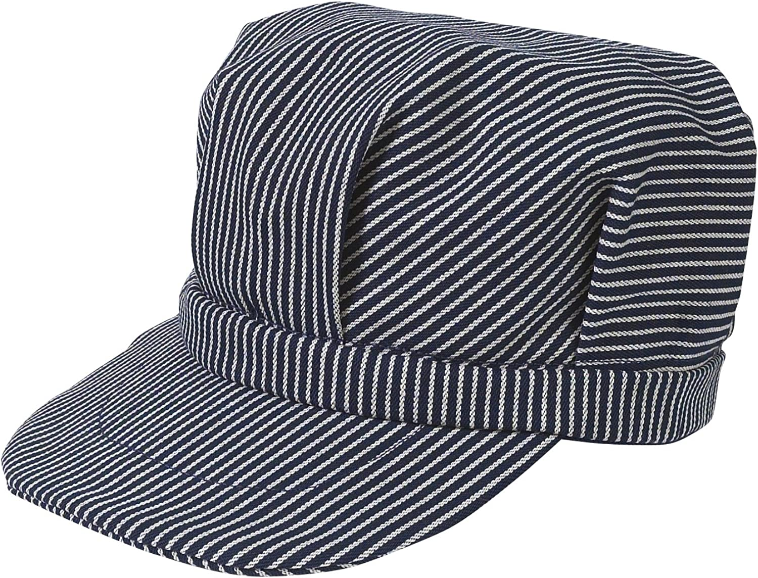 1920s Men's Hats – 8 Popular Styles Broner Sized Railroad Engineers Hat $19.99 AT vintagedancer.com