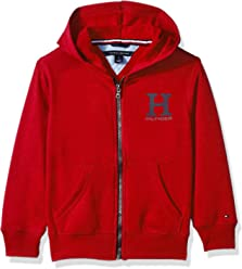 Tommy Hilfiger Little Boys Long Sleeve Matt Logo Zip Up Hoodie