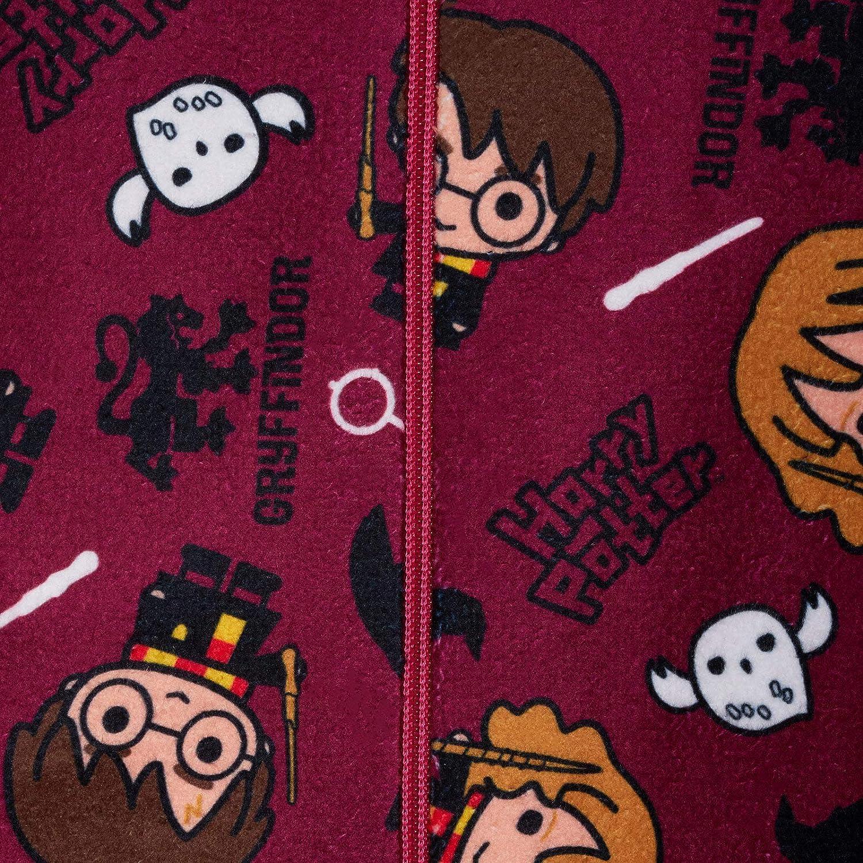 Harry Potter Onesie Boys Girls Unisex Fleece All in One Pyjamas Kids Hogwarts Charms Sleepsuit Onezie