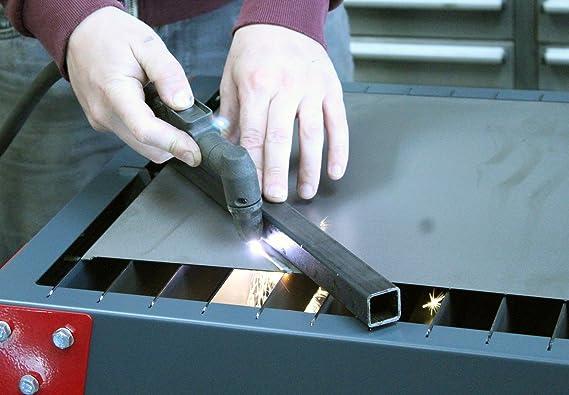 Portátil de mano cortador de plasma corte mesa banco banco de ...