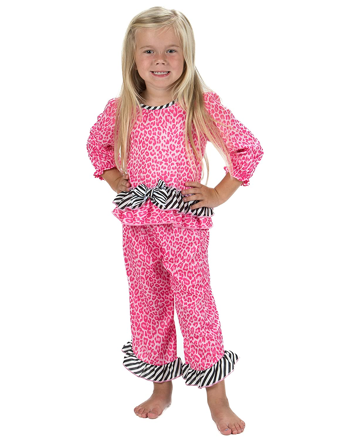 c47e5aface Top5  Laura Dare Baby Girls in The Pink Long Sleeve Pajamas
