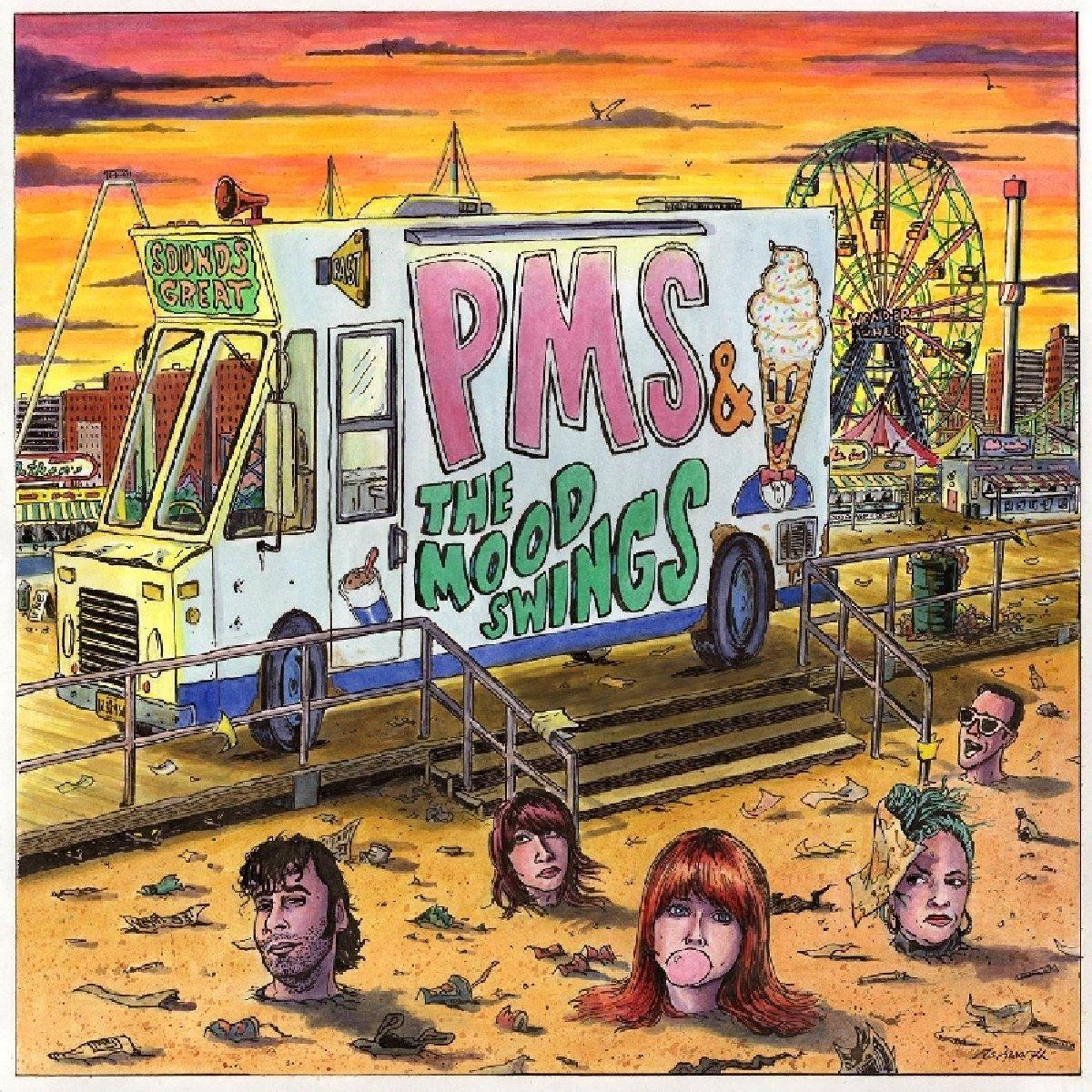 Vinilo : Pms & the Moodswings - Pms & The Moodswings (Digital Download Card)