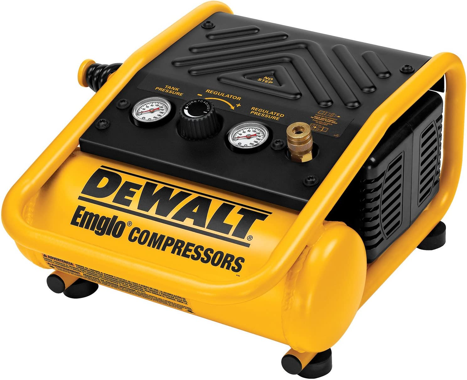 Built for Performance 1.2 Gal Portable Oil-Free Trim Air Compressor