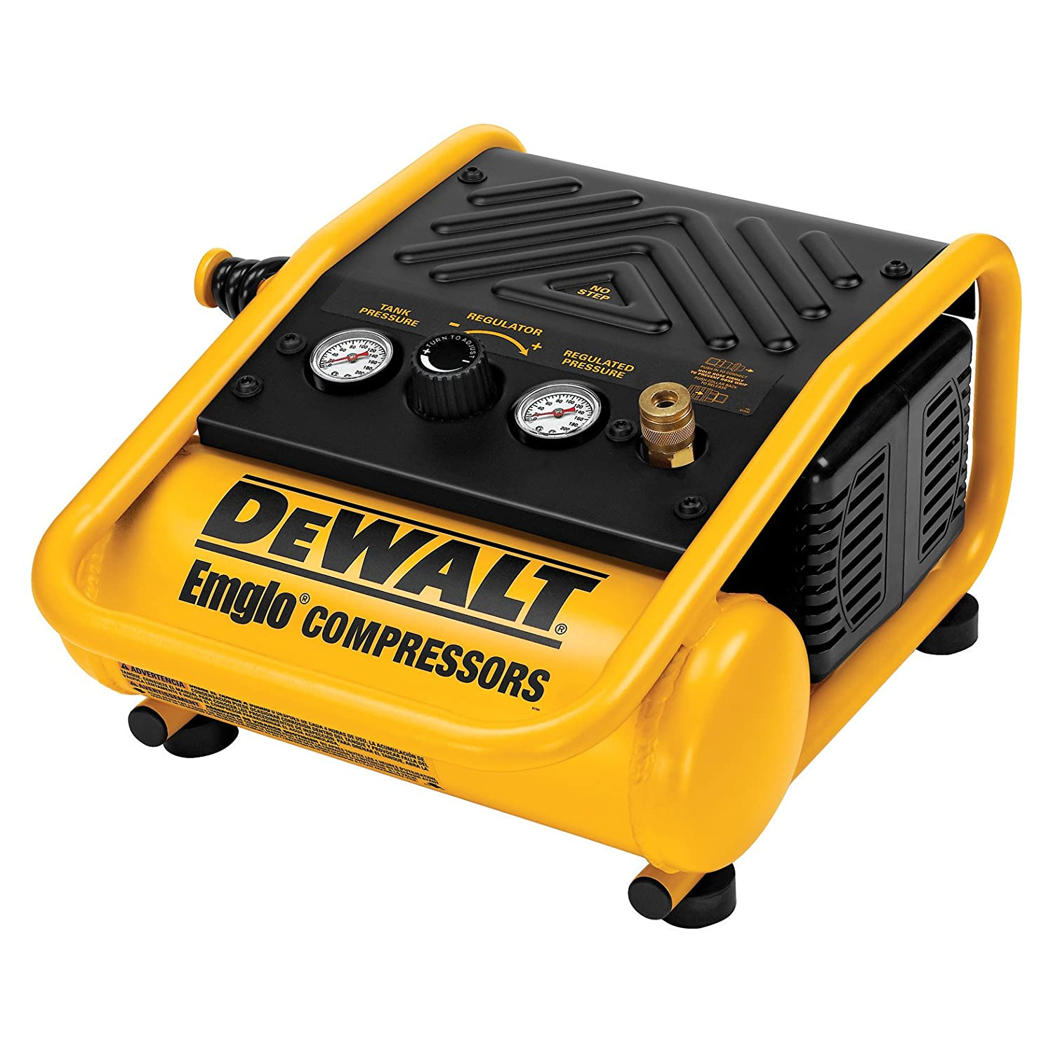 3.  DeWalt D55140 One-GallonTrim Compressor