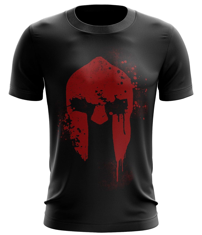 Stylotex Fitness T-Shirt Spartan Helmet Funktions-Stoff ...