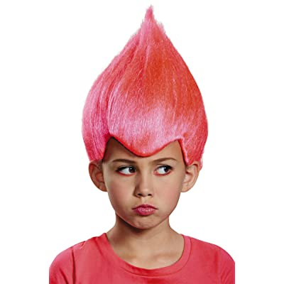 Pink Wacky Child Wig, One Size Child: Toys & Games